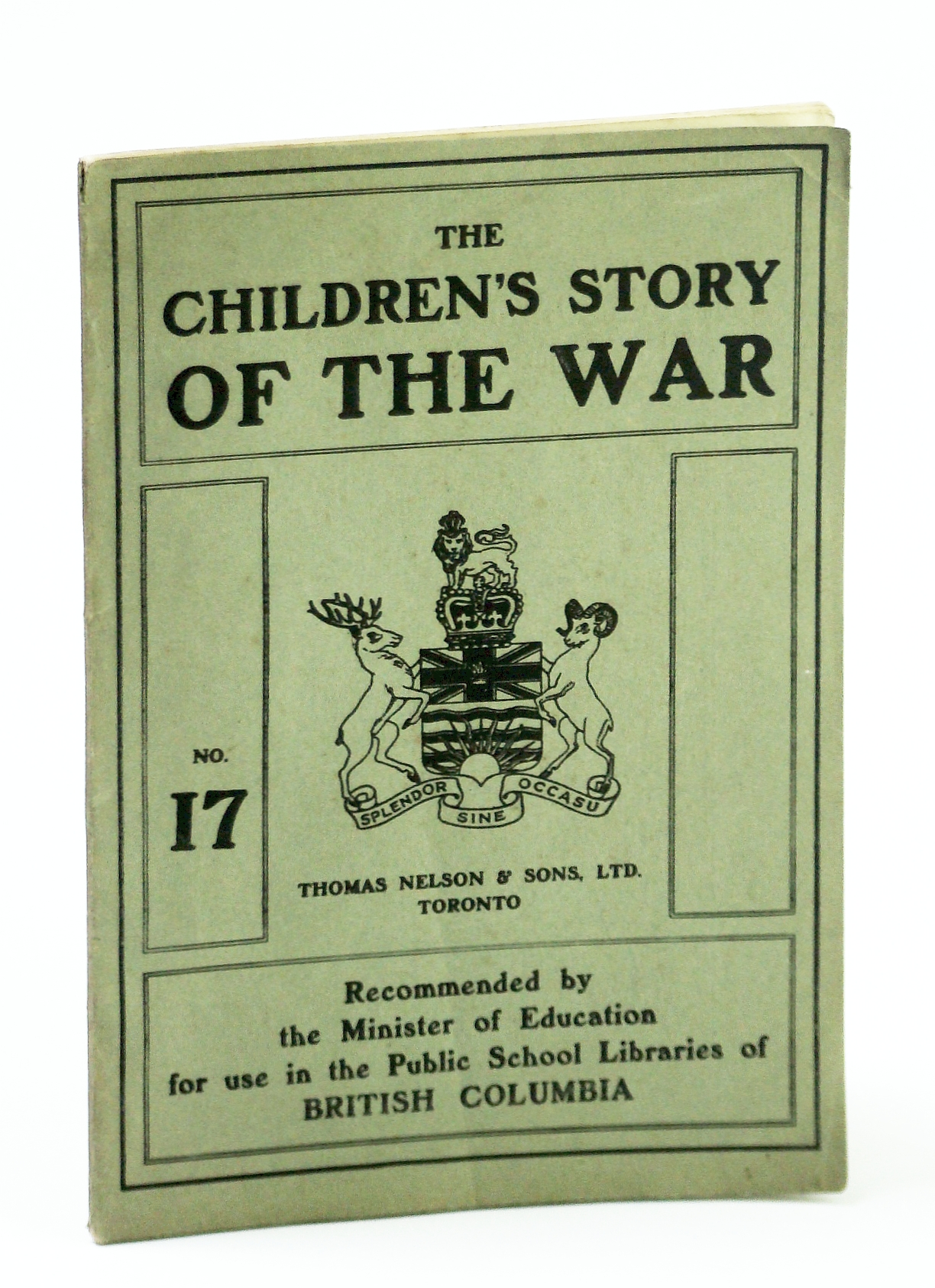 Image for The Children's Story of the War (WWI), No. 17 (Seventeen)