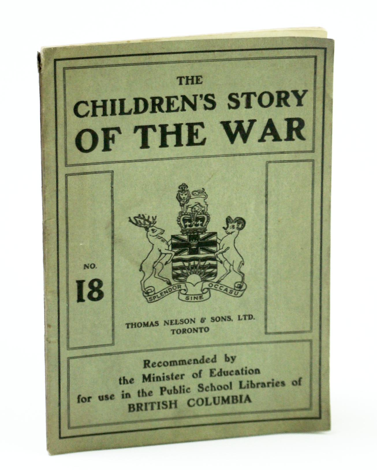 Image for The Children's Story of the War (WWI), No. 18 (Eighteen)