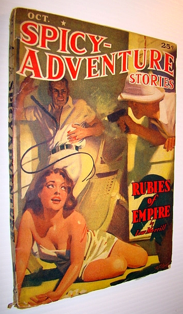 Image for Spicy Adventures (Spicy-Adventure) Stories Magazine, October 1939, Volume 10, Number 6