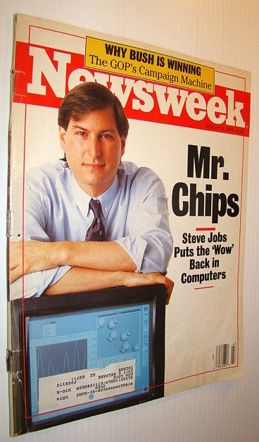 Image for Newsweek Magazine, October 24, 1988 *Steve Jobs Cover*