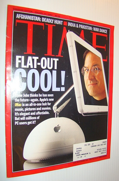 Image for Time Magazine, January 14, 2002 *Steve Jobs Cover*