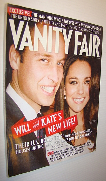 Image for Vanity Fair Magazine, July 2011 - Will and Kate Cover Photo