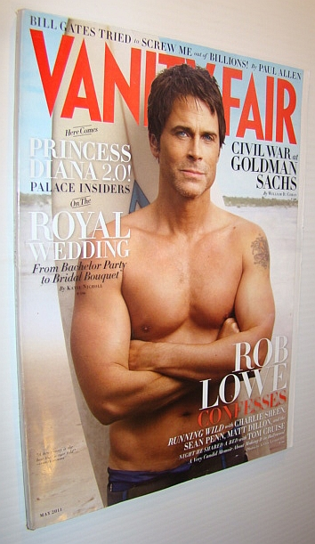 Image for Vanity Fair Magazine, May 2011 - Rob Lowe Cover