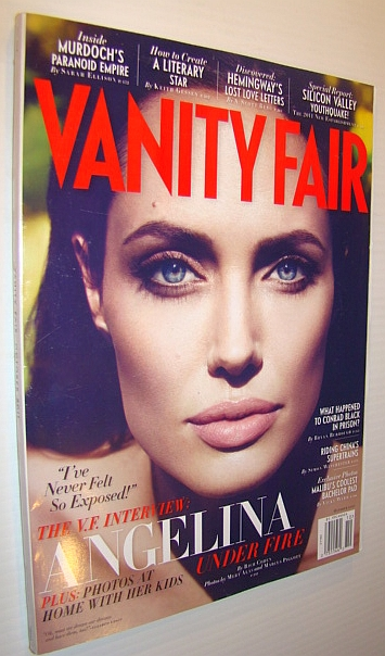 Image for Vanity Fair Magazine, October 2011 - Angelina Jolie Cover