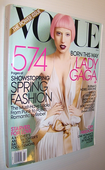 Image for Vogue Magazine, March 2001 - The Power Issue: Lady Gaga Cover