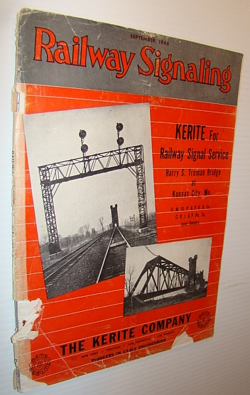 Image for Railway Signaling Magazine, September 1946