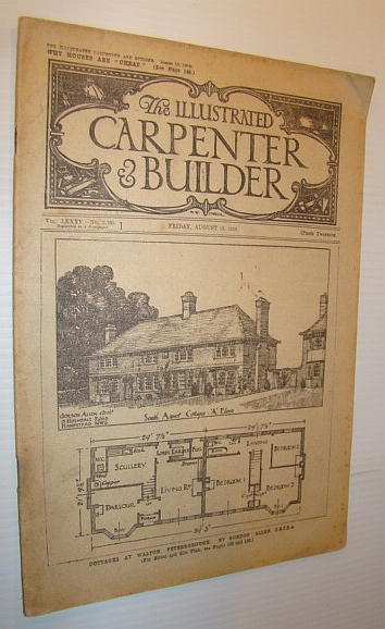 Image for The Illustrated Carpenter & Builder Magazine, Vol. LXXXV - No. 2, 193, Friday, August 15, 1919