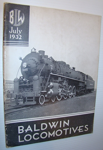 Image for Baldwin Locomotives (Magazine), July 1932