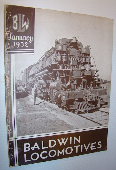 Image for Baldwin Locomotives (Magazine), January (Jan.) 1932