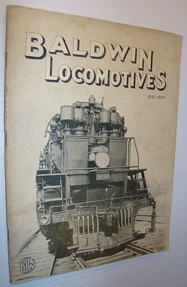 Image for Baldwin Locomotives (Magazine), July 1929