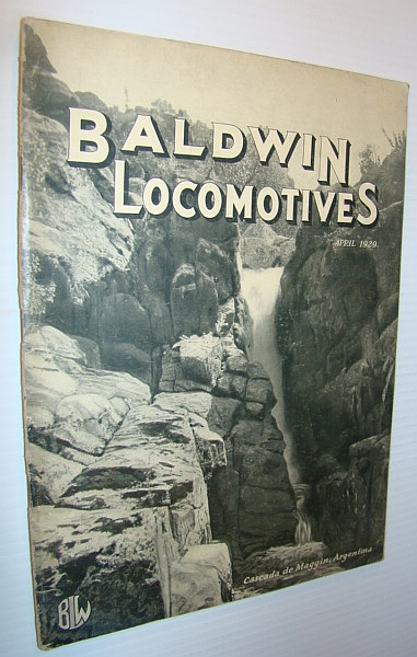 Image for Baldwin Locomotives (Magazine), April (Apr.) 1929