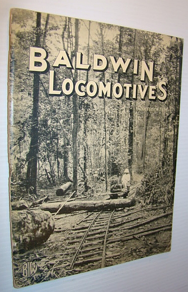 Image for Baldwin Locomotives (Magazine), October (Oct.) 1928