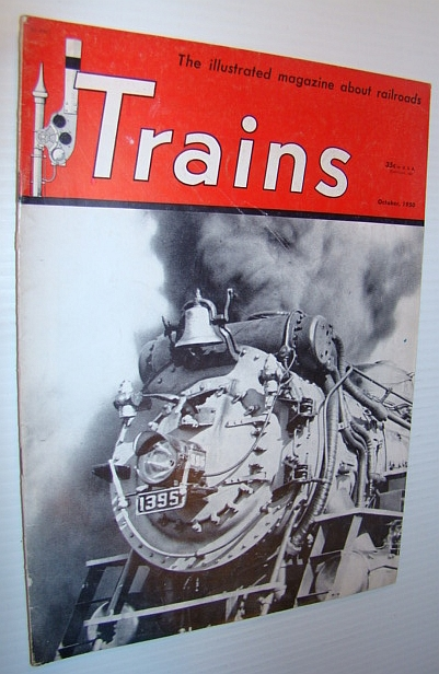 Image for Trains - The Illustrated Magazine of Railroading, October 1950 - Rahway Valley Railroad