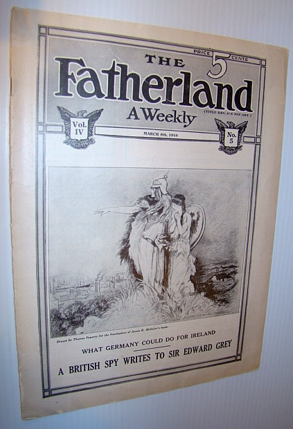 Image for The Fatherland - Fair Play for Germany and Austria-Hungary, March 8th, 1916