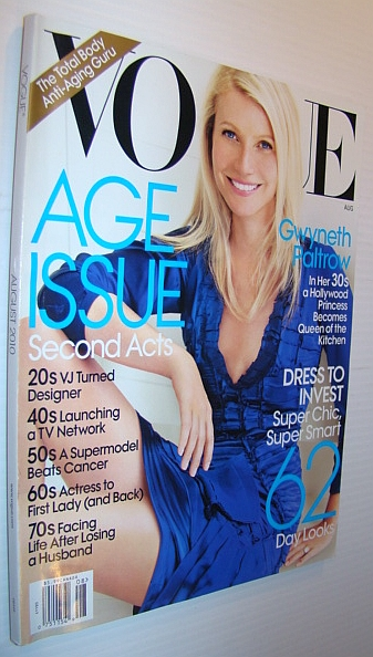 Image for Vogue Magazine, August 2010 - Gwyneth Paltrow Cover