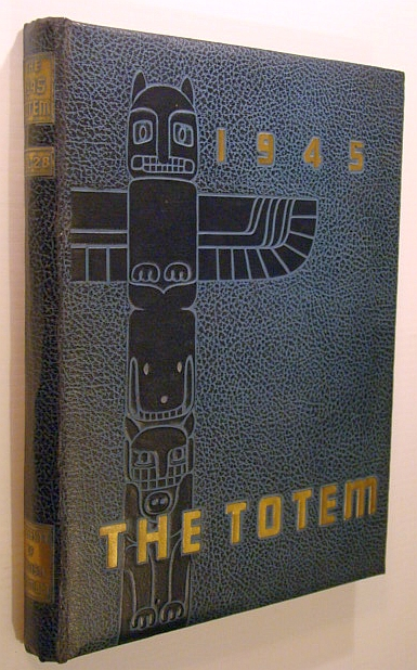 Image for The Totem 1945 - Yearbook of the University of British Columbia (UBC) - Volume Twenty-Eight (28)