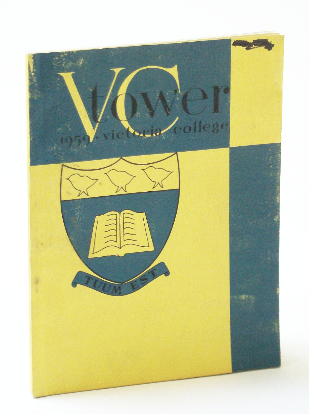 Image for V.C. (Victoria College) Tower 1959 - Student Yearbook