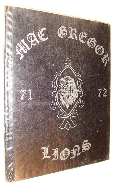 Image for Mac Gregor Lions, 1972: Yearbook of John I. Mac Gregor Intermediate School, Newark, California