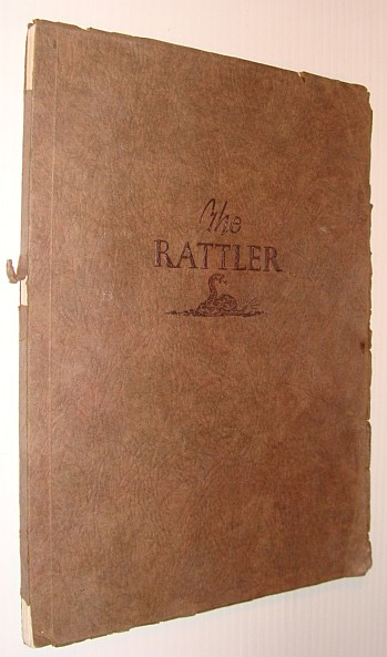 Image for The Rattler 1924 - Volume IV: Yearbook of the Senior Class of the Artesia High School, Artesia, New Mexico