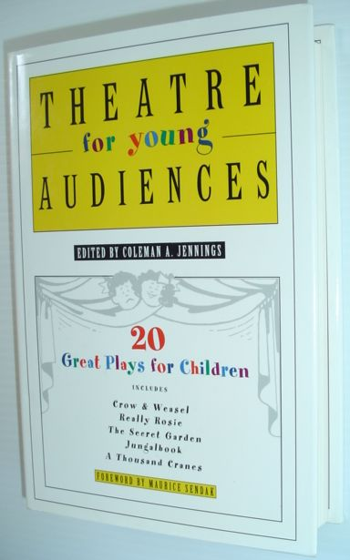 Image for Theatre for Young Audiences: 20 Great Plays for Children