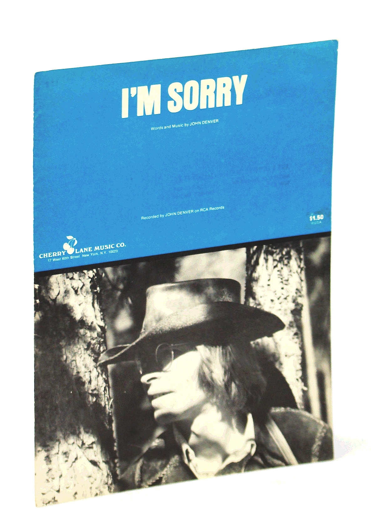 Image for I'm Sorry: Piano Sheet Music with Lyrics and Guitar Chords