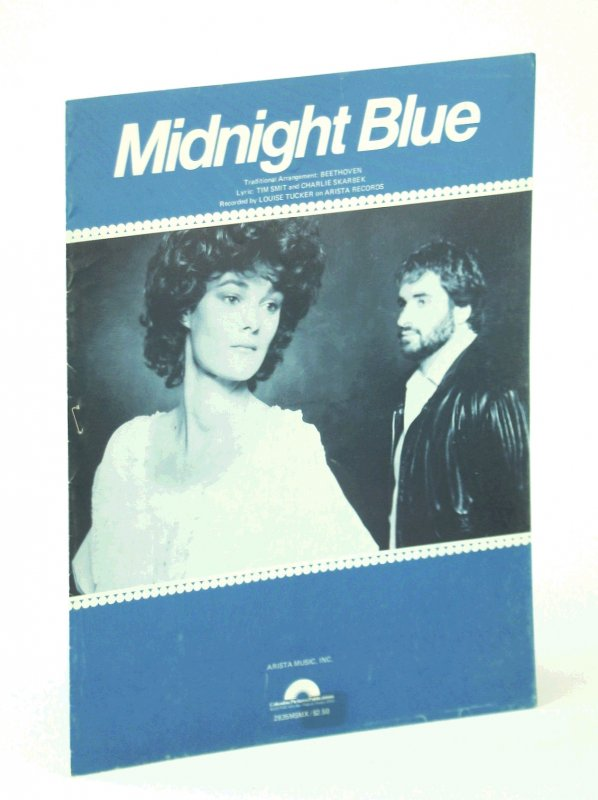 Image for Midnight Blue: Piano Sheet Music with Lyrics and Guitar Chords