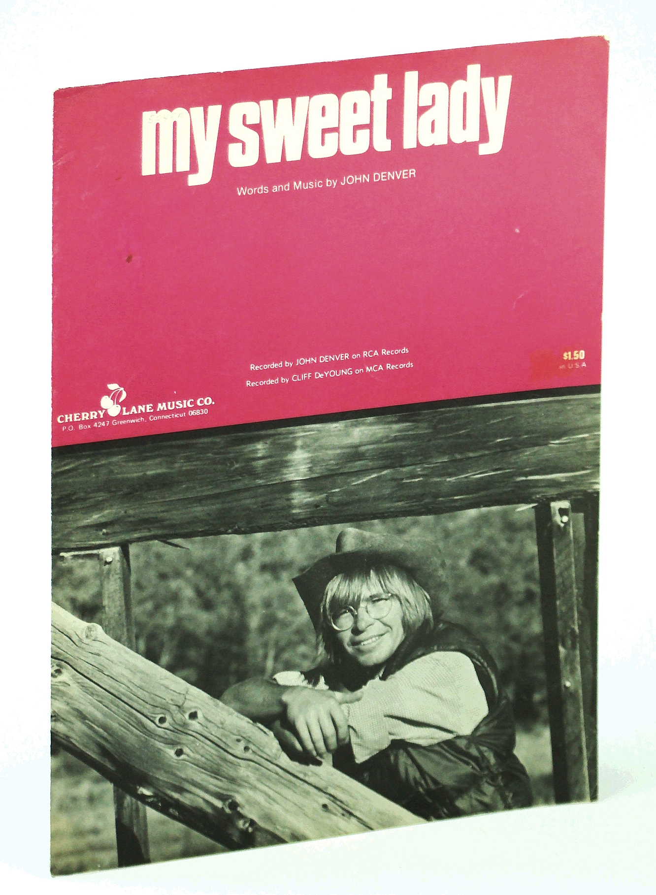 Image for My Sweet Lady By John Denver Sheet music