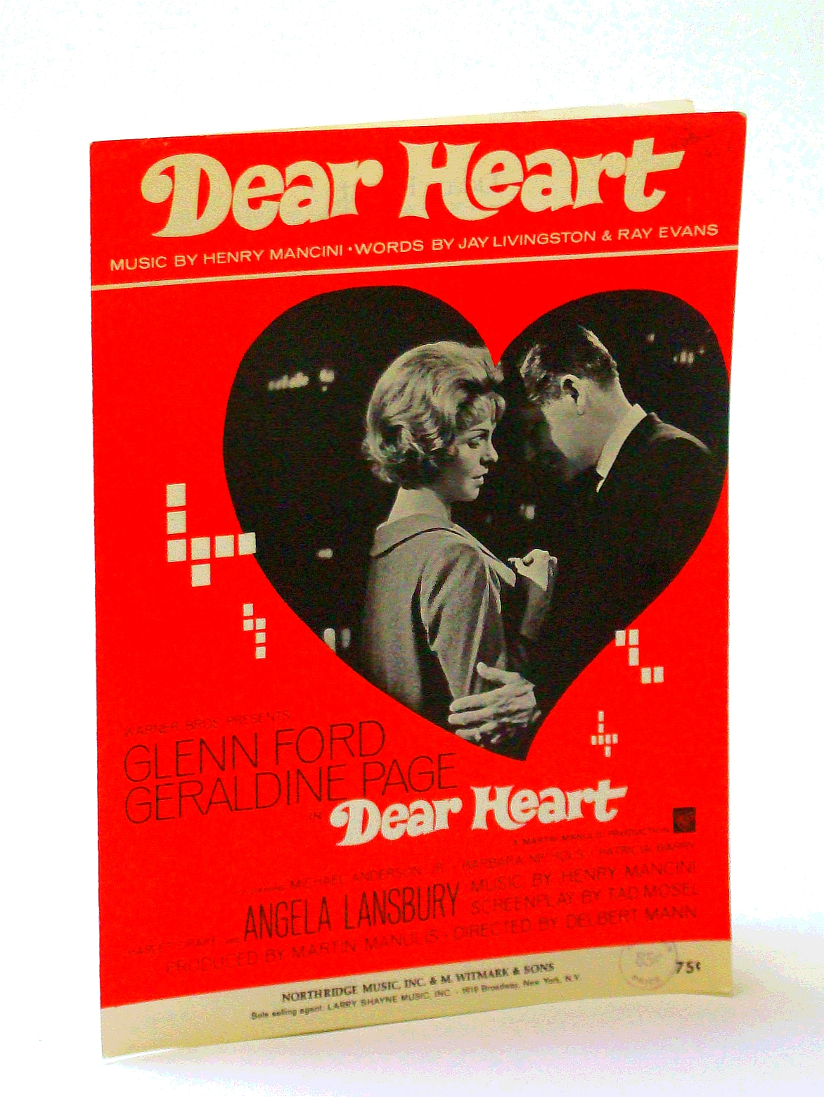 "Image for Dear Heart (from the Warner Brothers Picture ""Dear Heart"" - Cover photo of Glenn Ford and Geraldine Page)"