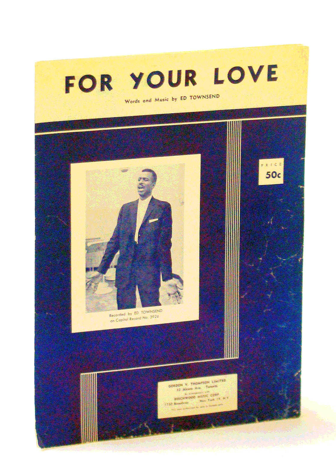 Image for For Your Love [Sheet Music]