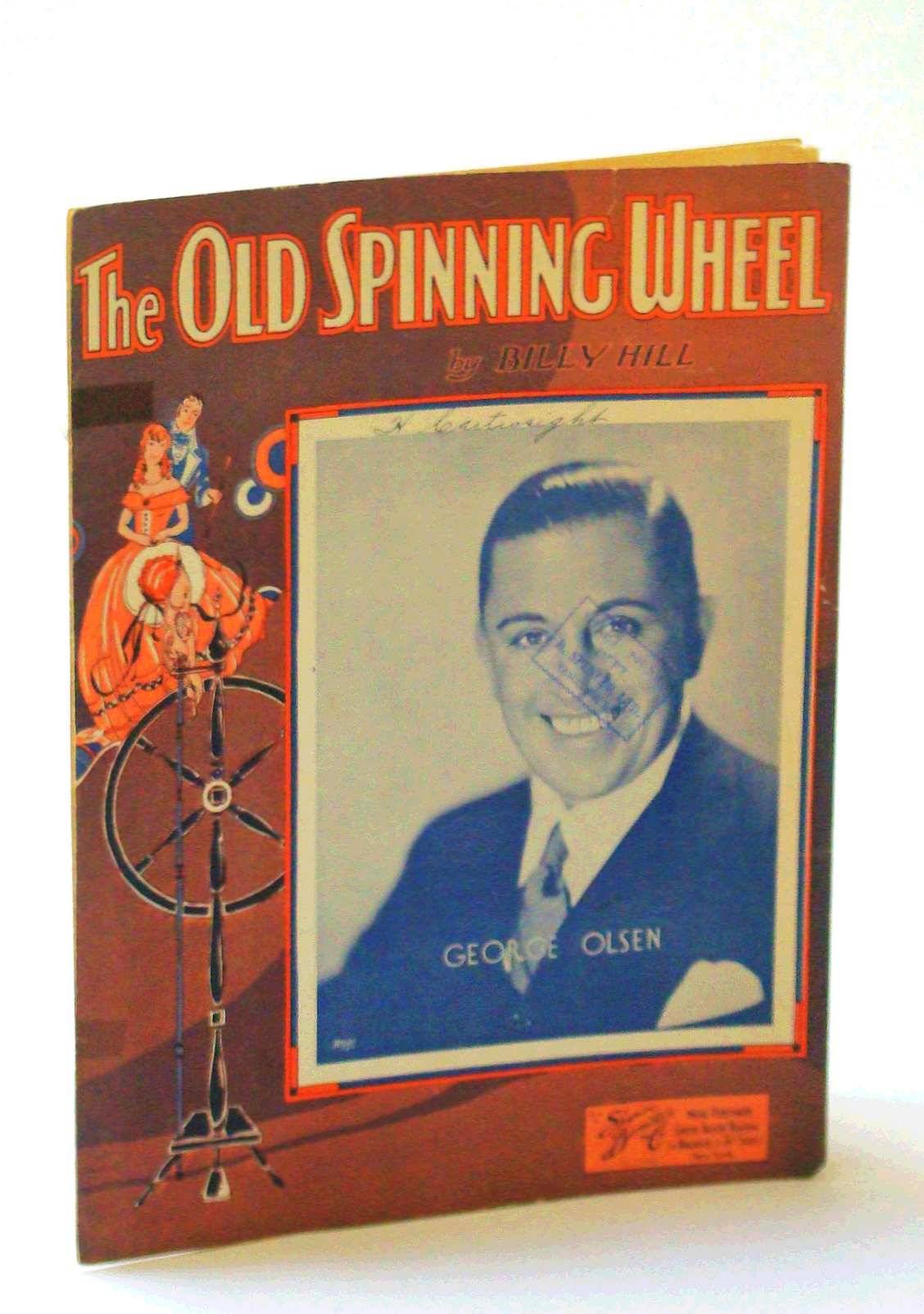 Image for The Old Spinning Wheel: Sheet Music for Voice and Piano with Ukulele Chords