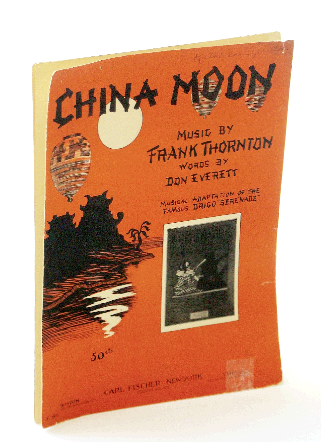 Image for China Moon: Sheet Music for Voice and Piano