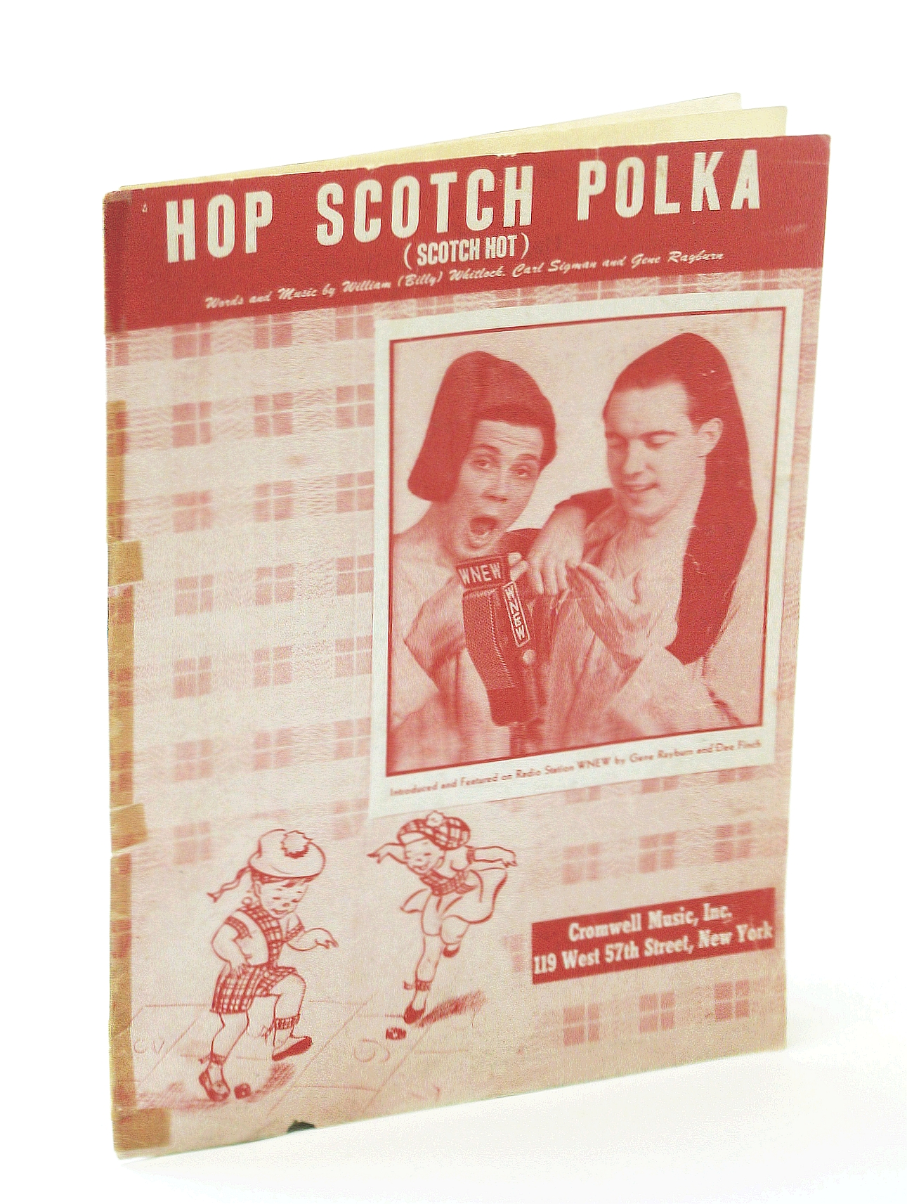 Image for HOP SCOTCH POLKA (Scotch Hot). Words and music by William (Billy) Whitlock, Carl Sigman and Gene Rayburn.
