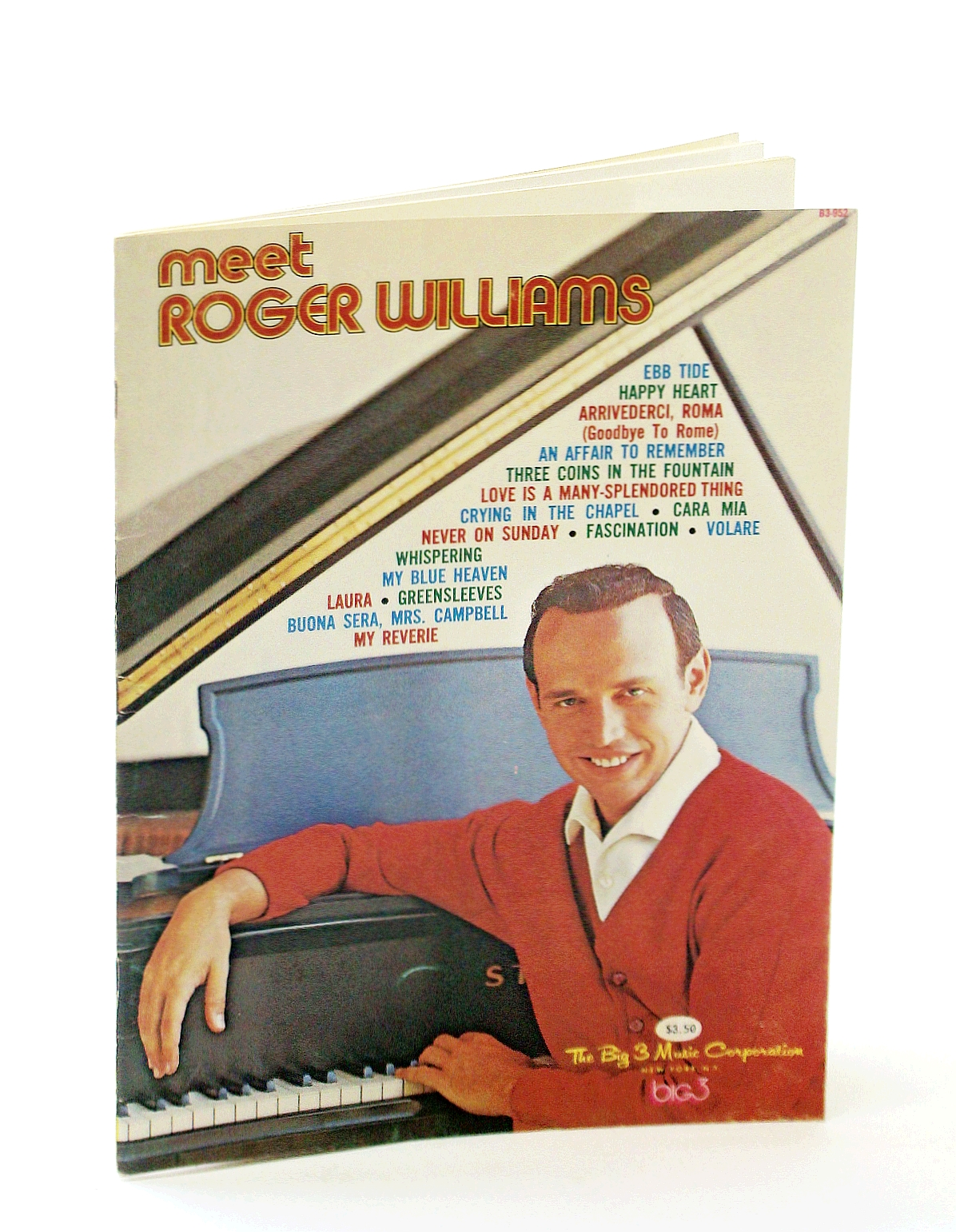 Image for Meet Roger Williams: Piano Arrangements by Roger Williams