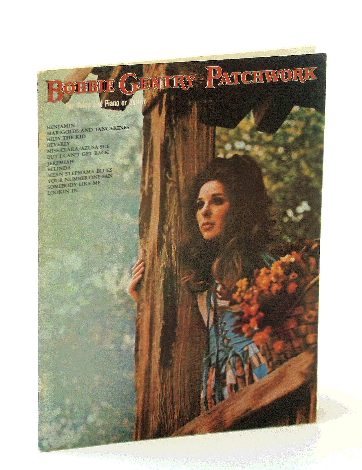 Image for Bobbie Gentry -  Patchwork: Songbook with Sheet Music for Voice and Piano with Chords