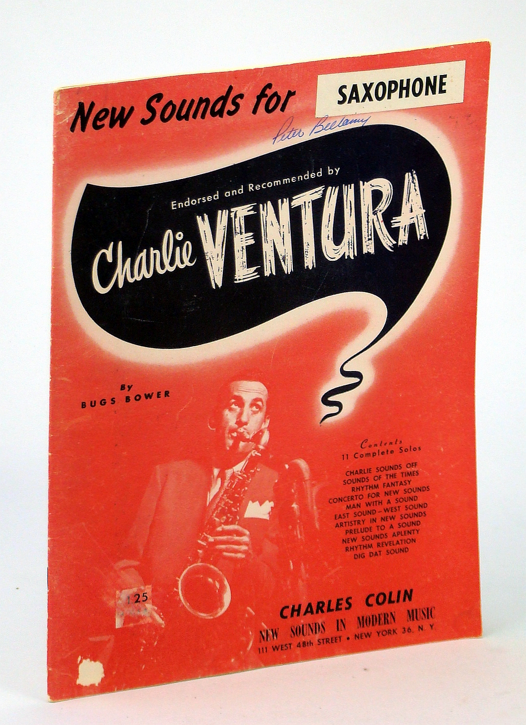 Image for New Sounds for Saxophone - Endorsed and Recommended By Charlie Ventura: Songbook with Sheet Music and Chords