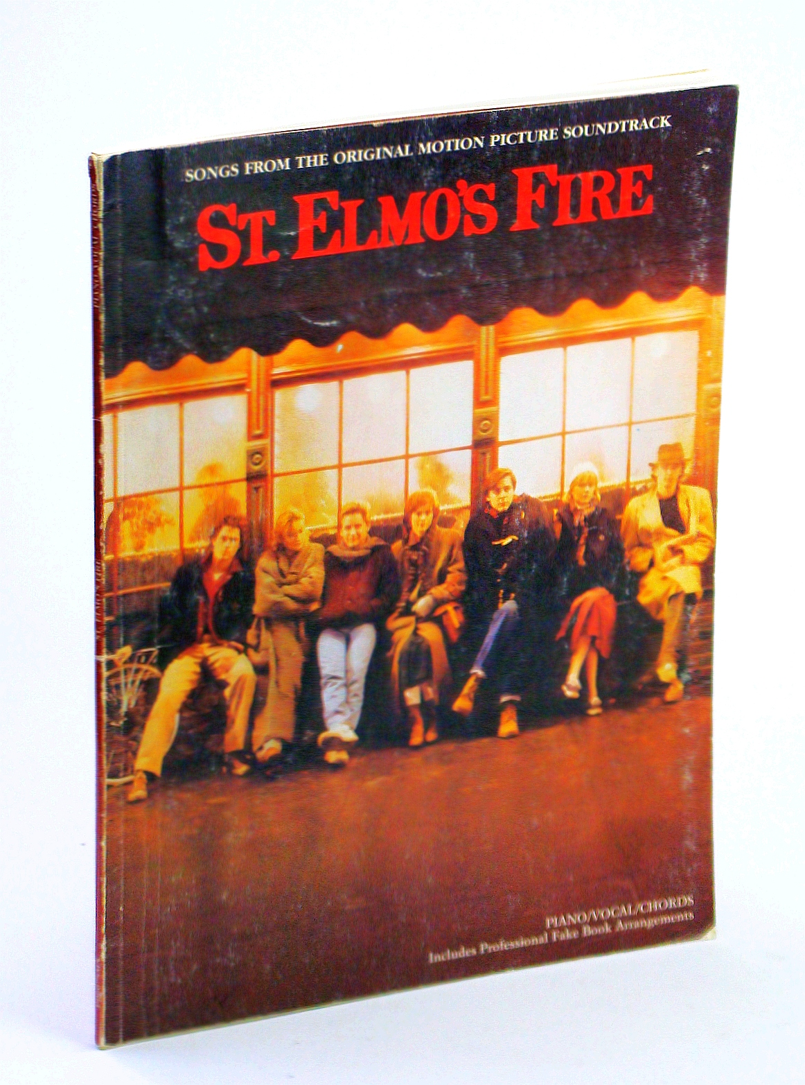 Image for Songs from the Original Motion Picture Soundtrack - St. Elmo's Fire - Piano/Vocal/Chords - Includes Professional Fake Book Arrangements