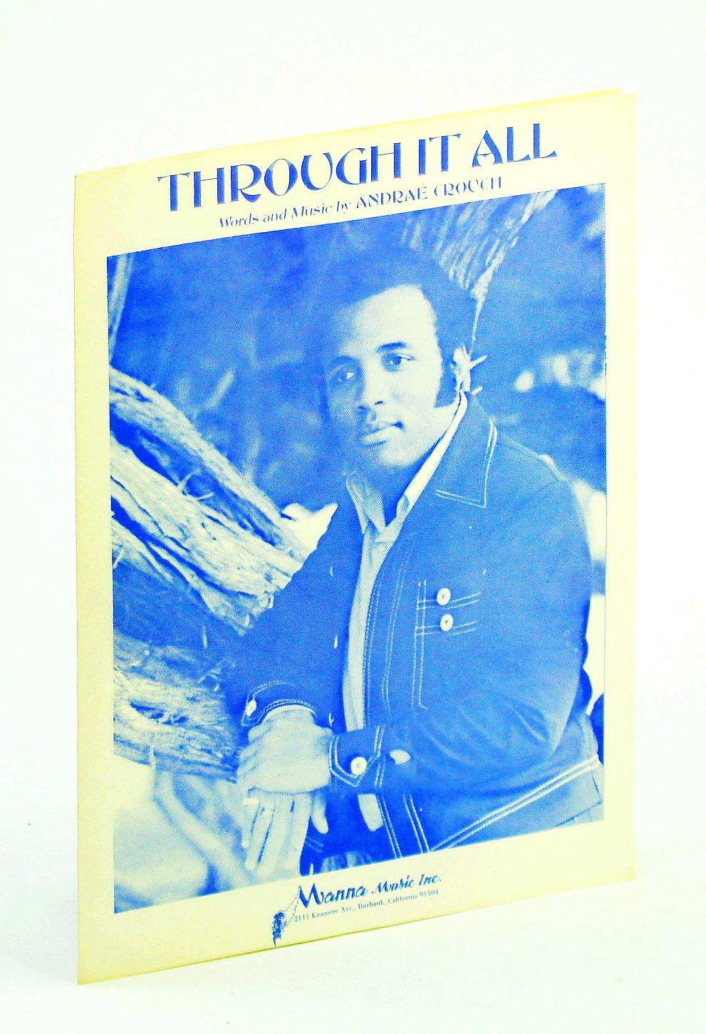 Image for ANDRAE CROUCH THROUGH IT ALL 1971 SHEET MUSIC shhet music FOLDER 18