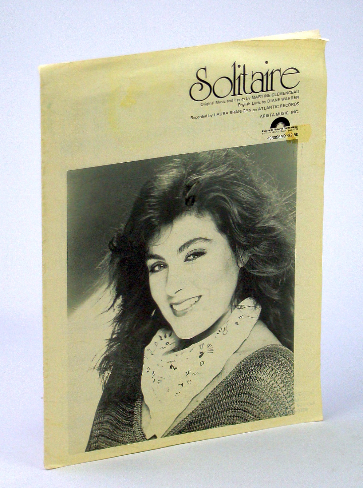 Image for Solitaire / Laura Branigan / Piano Vocal Guitar