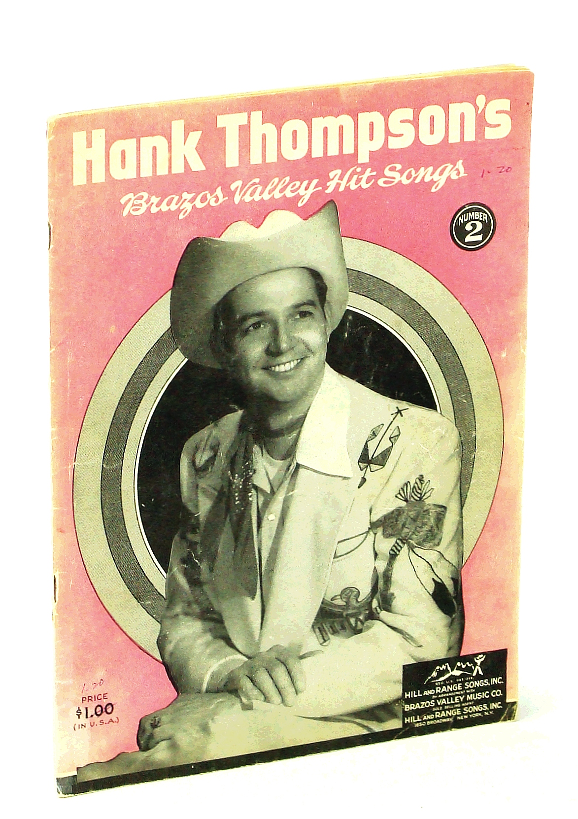 Image for Hank Thompson's Brazos Valley Hit Songs Number 2 [Songbook]