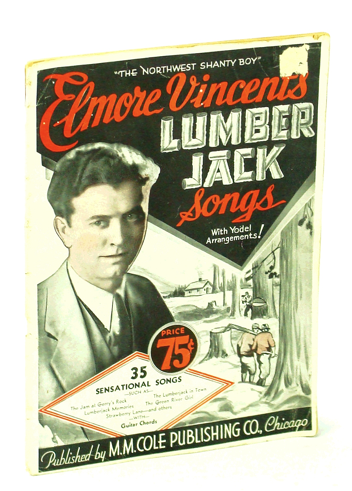 Image for Elmore Vincent's Lumber Jack Songs. With Yodel Arrangements! .