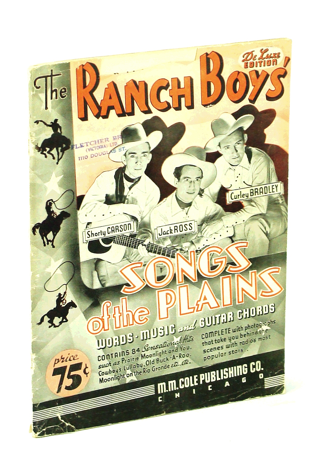 Image for Ranch Boys Songs of the Plains