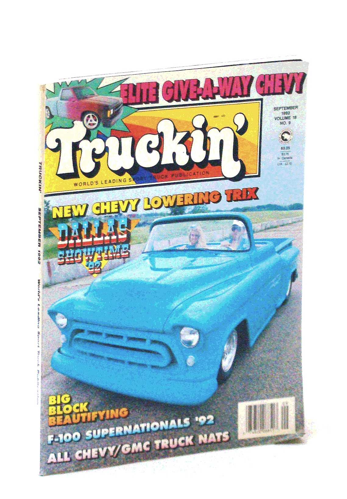 Image for TRUCKIN' MAGAZINE----SEPTEMBER 1992 ISSUE