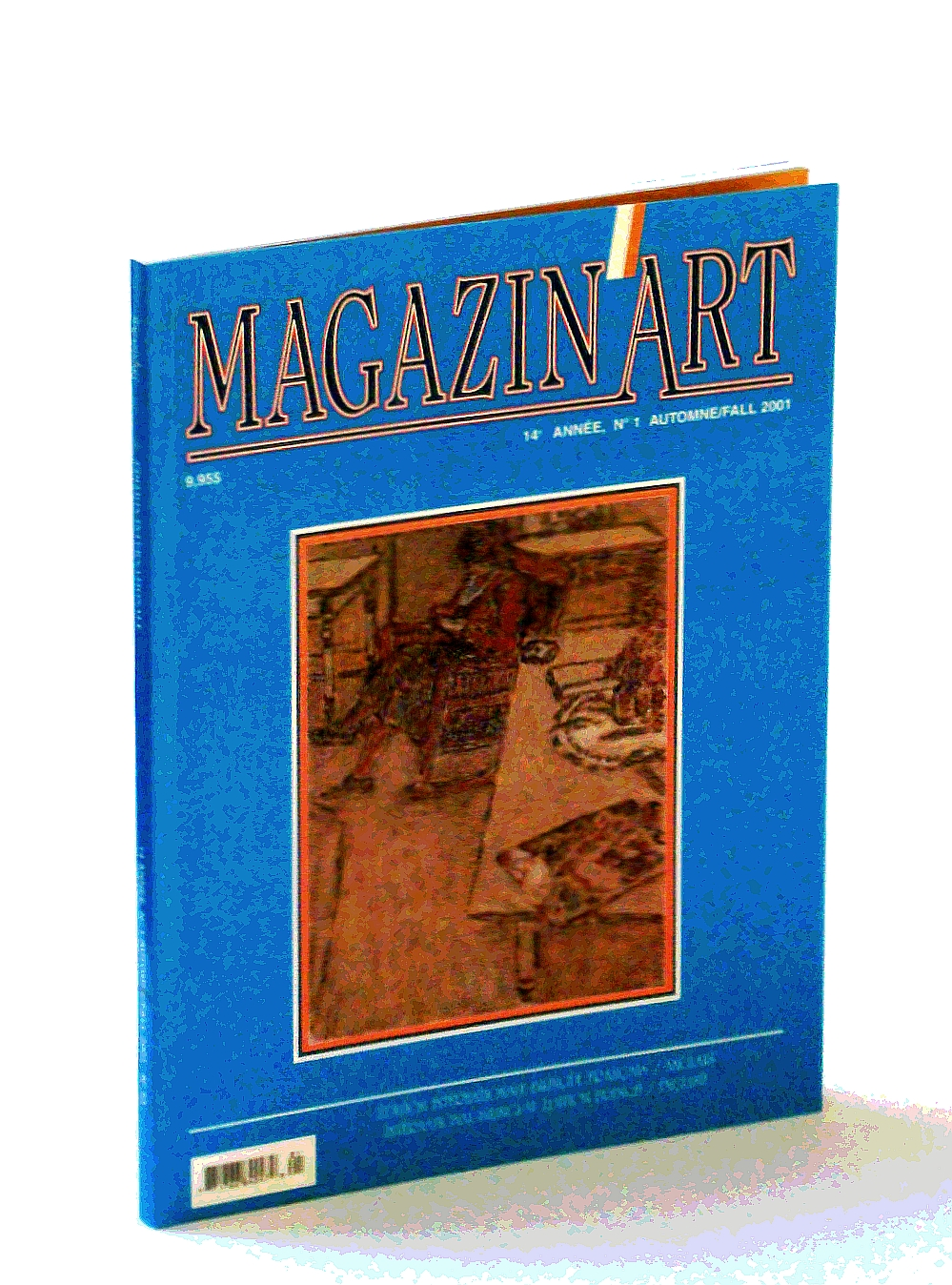 Image for Magazin'Art Automne/Fall 2001, 14 Annee, No. 1