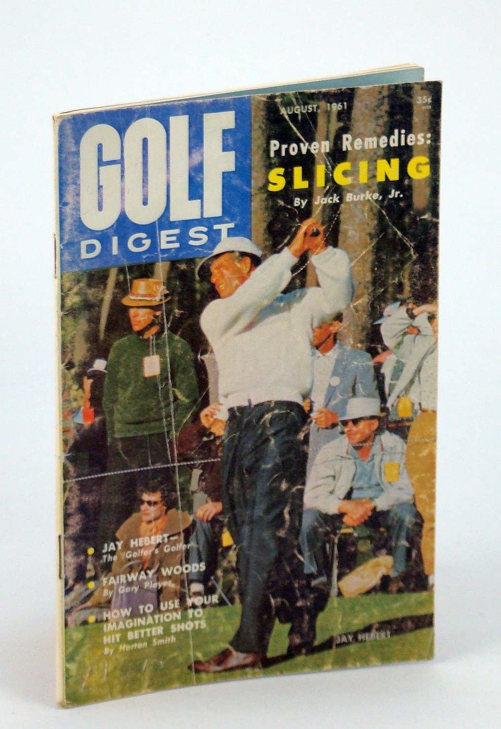 Image for Golf Digest - World's Largest Selling Golf Magazine, August [Aug.] 1961, Volume 12, No. 7 - Jay Hebert Cover Photo