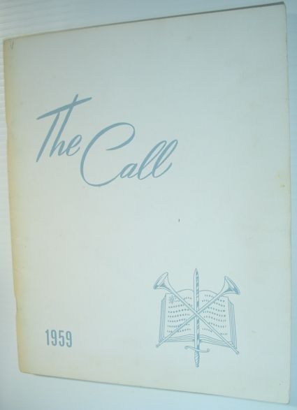 Image for The Call 1959 - Yearbook of Western Pentecostal Bible College, North Vancouver, B.C.