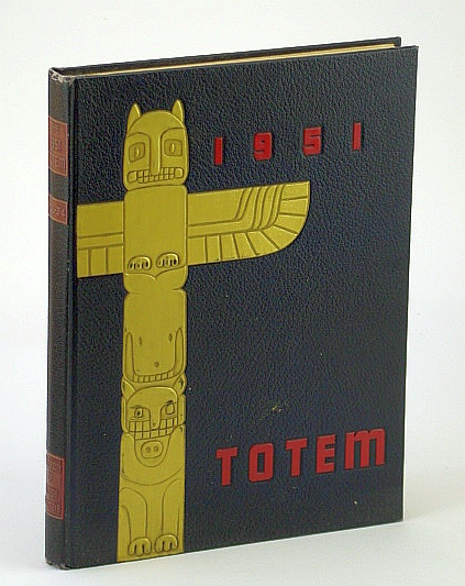 Image for Totem 1951 ('51) - Yearbook of the University of British Columbia (U.B.C./UBC)