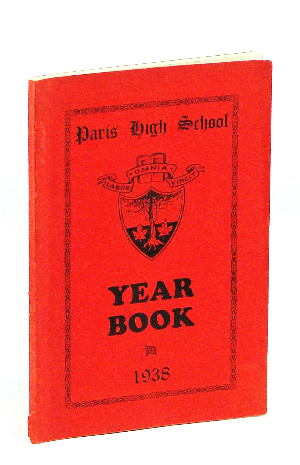 Image for Paris [Ontario] High School Year Book [Yearbook], December [Dec.] 1938