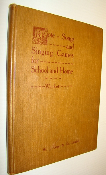 Image for Rote Songs and Singing Games for School and Home