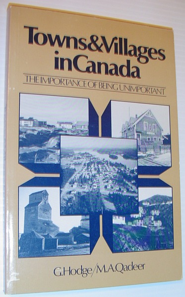 Image for Towns and villages in Canada: The importance of being unimportant