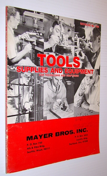 Image for Tools, Supplies and Equipment for Technicians and Craftsmen - Catalog No. 755